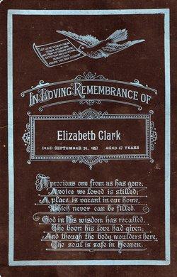 Elizabeth Clark