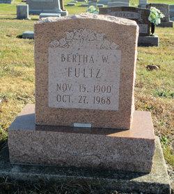 Bertha W <i>Carroll</i> Fultz