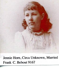 Jennie Eve <i>Horn</i> Bebout