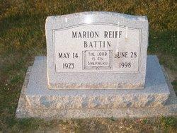Marion Reiff Battin