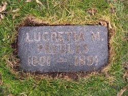 Lucretia Monague <i>Nelson</i> Peebles