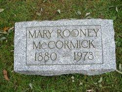 Mary <i>Rooney</i> McCormick