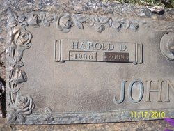 Harold Douglas Johnson