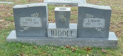 Lewis Frank Riddle