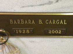 Barbara <i>Bell</i> Cargal