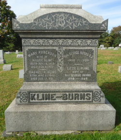 Lizzie L. <i>Kline</i> Burns