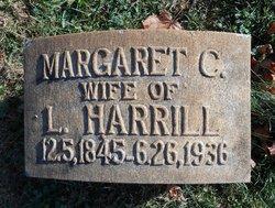 Margaret Caroline Maggie <i>Stockton</i> Harrill