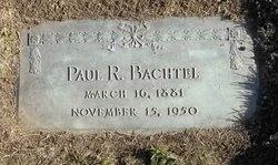 Paul R Bachtel