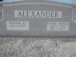 Eloise <i>Parker</i> Alexander