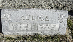 Cecil Rufus Pat Aulick