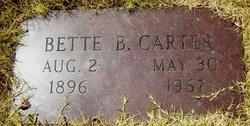 Bette B Carter