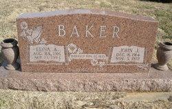 Edna Aureleia <i>Sanders</i> Baker