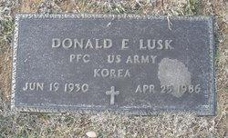 Donald Eugene Lusk