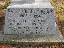Ralph Irish Gibbons