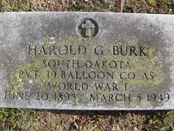 Harold Gustave Burk
