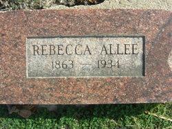 Rebecca Allee