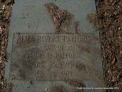 Alma Gertrude <i>Rivers</i> Pafford