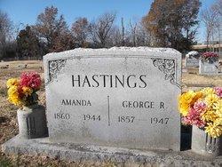 Amanda Paralee <i>Mizell</i> Hastings