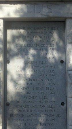Eugenie <i>Richardson</i> Ellis