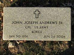 John Joseph Jack Andrews, Sr
