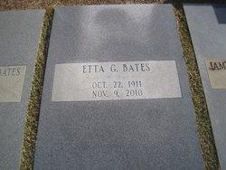 Etta Gunn <i>Giddens</i> Bates