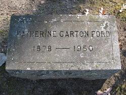 Katherine Alma <i>Garton</i> Ford