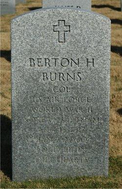 Col Berton Harrell Tex Burns