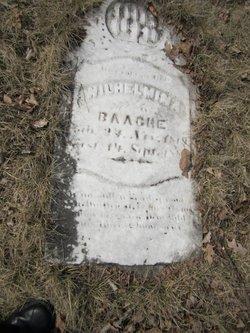 Wilhelmina Minnie <i>Bucke</i> Baache