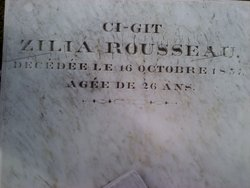 Zilia <i>Rousseau</i> Mouton