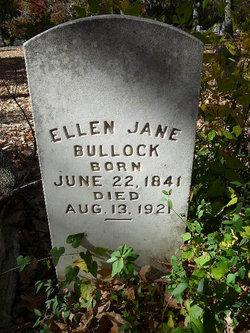 Ellen Jane <i>Boyd</i> Bullock