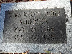 Cora McCoy <i>Toole</i> Alderson