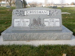 Mary Elnora <i>Gray</i> Crossman