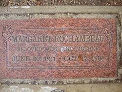 Margaret F <i>Apgar</i> Rochambeau