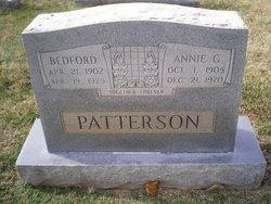 Annie G Patterson
