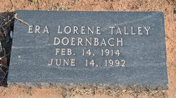 Era Lorene <i>Talley</i> Doernbach