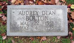 Audrey <i>Dean</i> Bolton