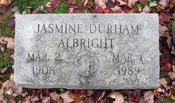Jasmine <i>Durham</i> Albright