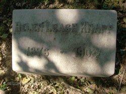 Helen P <i>Leach</i> Knapp