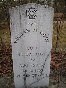 Pvt William Moseley Cook