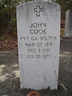 Pvt John Cook