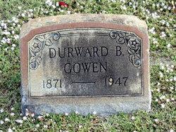 Durwood Belmont Gowen