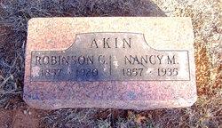 Robinson G Akin