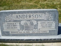Jennie Caroline <i>Larsen</i> Anderson
