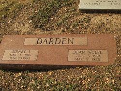 Jean <i>Wolfe</i> Darden