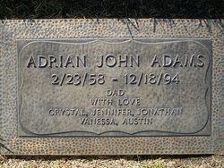 Adrian John Adams