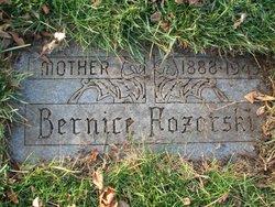 Bernice Bertha <i>Milachowski</i> Pozorski