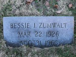 Bessie Irene <i>Engelhardt</i> Zumwalt