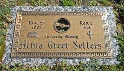 Alma Gerusha <i>Greer</i> Sellers