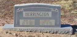 Mary Hope <i>Miller</i> Herrington