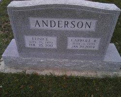 Eunice <i>Johnson</i> Anderson